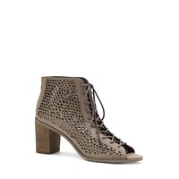 VINCE CAMUTO TULINA – LACE-UP PERFORATED BOOTIE