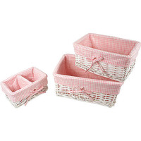 Koala Baby 3-Piece Basket Set - White