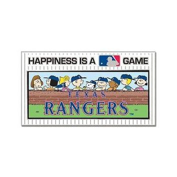 TEXAS RANGERS PEANUTS GANG HAPPINESS IS A GAME COLLECTOR PIN BRAND NEW WINCRAFT