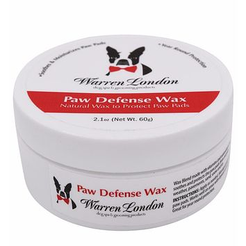 Paw Defense Wax - Soothes, Moisturizes and Protects Dog's Paw Pads