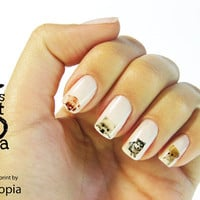 Puppy Water Transfer Nail Sticker