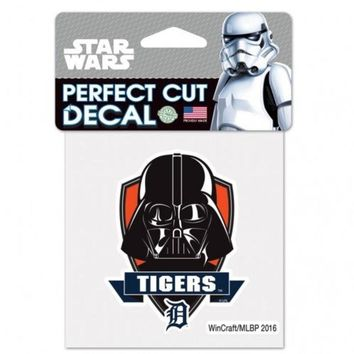 ONETOW MLB Detroit Tigers Star Wars Darth Vader Decal