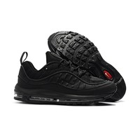 Nike Air Max 98 X Supreme Black Running Shoes - Best Deal Online