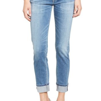 Citizens of Humanity Jazmin Crop Straight Leg Jeans (Pacifica) | Nordstrom