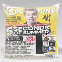 5 Second Of Summer Luke Hemmings Pillow Case, Square (16x16) (18x18), Rectangle (16x24) (20x30) (20x36) One Side/Two Side