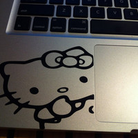 Hello Kitty Corner/Side Vinyl Decal by DigitalDecal on Etsy