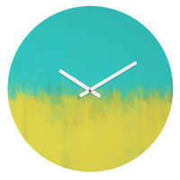 Allyson Johnson Caribbean Round Clock