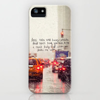 come back, be here iPhone Case by Leigh / losinghimwasblue | Society6