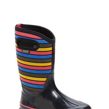 'Classic - Stripes' Waterproof Boot (Walker, Toddler, Little Kid & Big Kid)