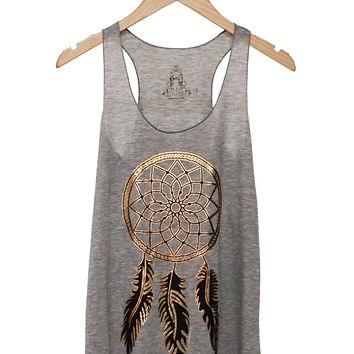 Golden Dreamcatcher Tank