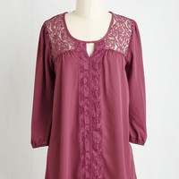 Long Graceful and Tasteful Top by ModCloth