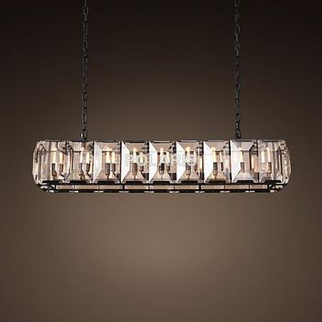Vintage Chandelier RH Linear Hanging Lamp - Free Shipping