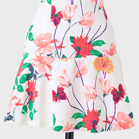 Goodwin Floral Skirt By BB Dakota