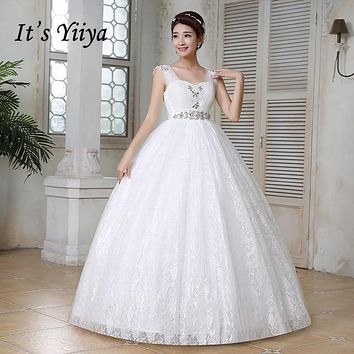 Pregnancy wedding dresses white plus size lace wedding frocks cheap Vestidos De Novia wedding gowns frock Bridal dress HS151