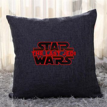 The-Last-Jedi, Star Wars Throw Pillow Cover