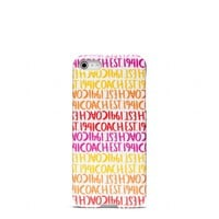 Coach :: New Double Stripe Scarf Print Iphone 5 Case