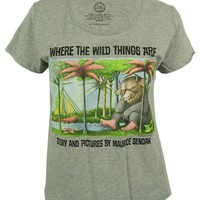 Out of Print Women's 'Where The Wild Things Are' Graphic Tee