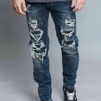 Distressed Illusion Jeans DL1189 - V3C