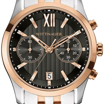 Wittnauer Two-Tone Chronograph Watch WN3035