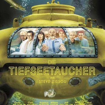 The Life Aquatic with Steve Zissou (German) 27x40 Movie Poster (2004)