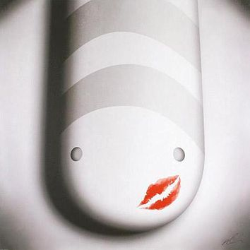 The Kiss - Limited Edition Giclee on Stretched Canvas by Peter Smith