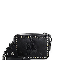Lanvin - Mini Nomad Studded Leather Bag - Saks Fifth Avenue Mobile