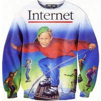 ☮♡ Internet Surfing Sweater ✞☆
