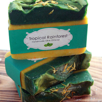 Tropical Rainforest - Olive Oil Soap
