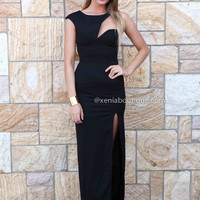 MY NIGHT MAXI DRESS , DRESSES, TOPS, BOTTOMS, JACKETS & JUMPERS, ACCESSORIES, 50% OFF , PRE ORDER, NEW ARRIVALS, PLAYSUIT, COLOUR, GIFT VOUCHER,,CUT OUT,BODYCON,Black,SHORT SLEEVE Australia, Queensland, Brisbane