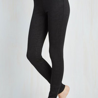Statement Skinny World's Best Emboss Leggings in Paisley by ModCloth