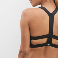 Medium Impact - Caged Back Sports Bra