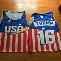 Donald Trump USA Jersey