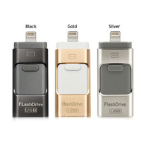 i-Flash Drive 32gb 64gb Mini Usb Metal Pen Drive Otg Usb Flash Drive For iPhone 5/5s/5c/6/6 Plus/ipad i-Flashdrive Pendrive