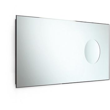 LB Speci Wall Bevelled Large Bath Vanity Bedroom Mirror W/ 3X Magnification Spot