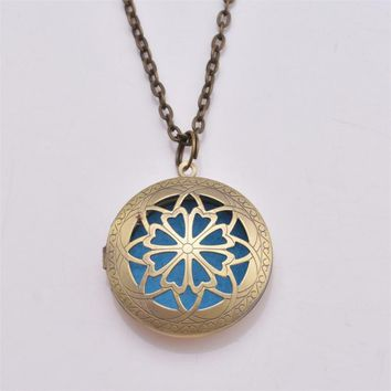Round Essential Oil Diffuser Locket