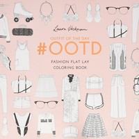 #OOTD: Fashion Flat Lay Coloring Book Paperback – September 27, 2016