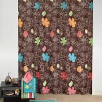 Kaleidoscope Fabric Shower Curtain