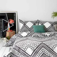 Magical Thinking Mirrored Sumatra Duvet Cover
