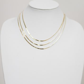 Cicely Dainty Necklace