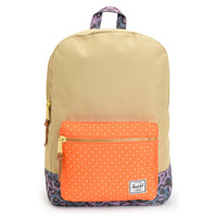 Herschel Supply Settlement Khaki, Orange & Cheetah Backpack at Zumiez : PDP