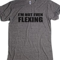 Athletic Grey T-Shirt | Funny Workout Shirts