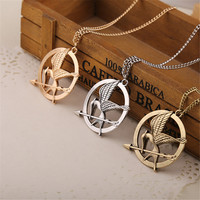 Hunger Games Inspired Bird Arrow Necklace/Pendant. FREE SHIPPING