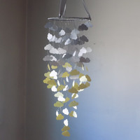 Cloud mobile! Baby Nursery mobile,Crib mobile,Happy Birthday,Boy/Girl nursery crib mobile.Choose Your Colors!