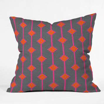 Holli Zollinger indie star bright Throw Pillow