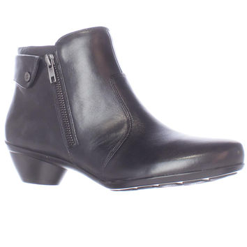 naturalizer Haley Casual Ankle Boots - Black