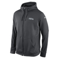 Nike Platinum KO Chain Fleece Full-Zip (NFL Seahawks) Men's Hoodie