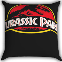 Jurassic Park Dinosaur Logo I0072 Zippered Pillows  Covers 16x16, 18x18, 20x20 Inches