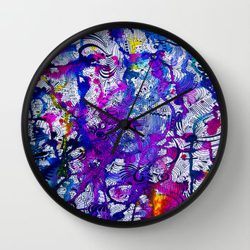 Love Within (color splash) Wall Clock by DuckyB (Brandi)