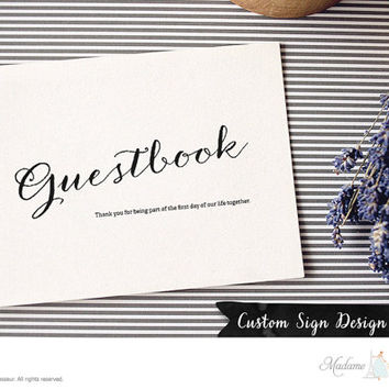 Printable Wedding sign Guestbook sign DIY wedding design wedding signage Guestbook wedding party signs wedding template DIY wedding design