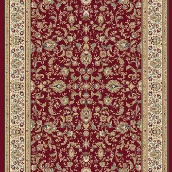 Floral Oriental Area Rug Red Wool Rug Traditional Oriental Rugs Persian Style Mat AllSizes